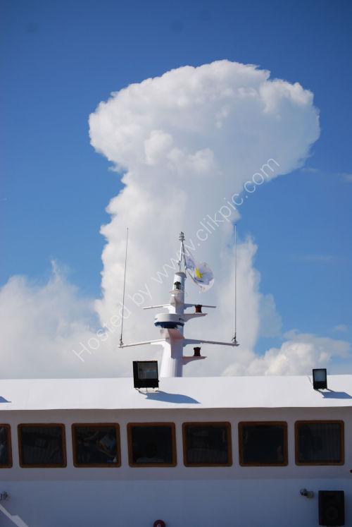 Cloud shape....