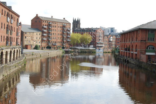 The River Aire at Brewery Wharf