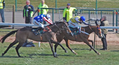 Riding for the finish