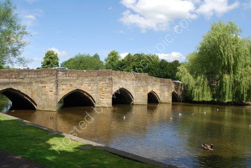 Medieval bridge at Bakewell