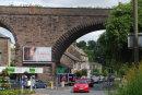 Railway viaduct at Buxton