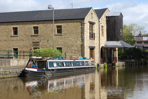 The Brighouse canal basin