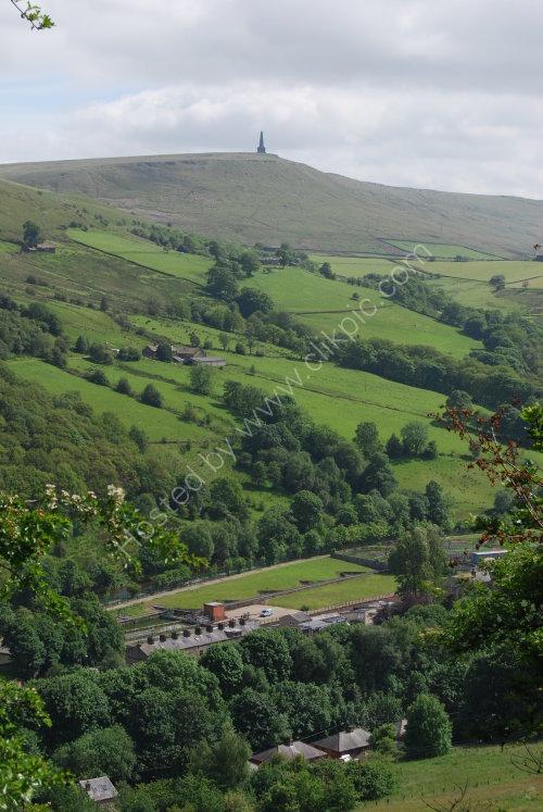 The Calder Valley & Stoodley Pike (Portrait)
