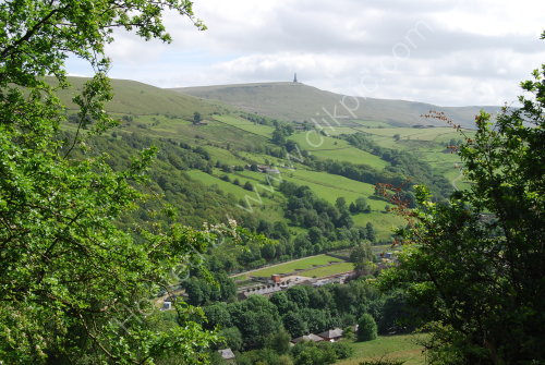 The Calder Valley & Stoodley Pike (Landscape)