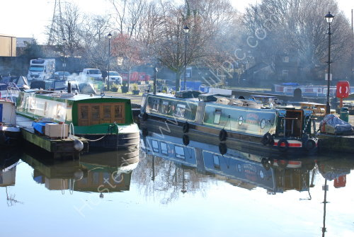 Reflections on the canal basin