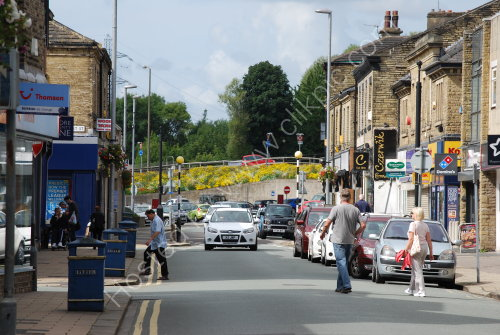 Commercial Street on Sunday
