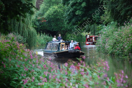 Canal barge trips