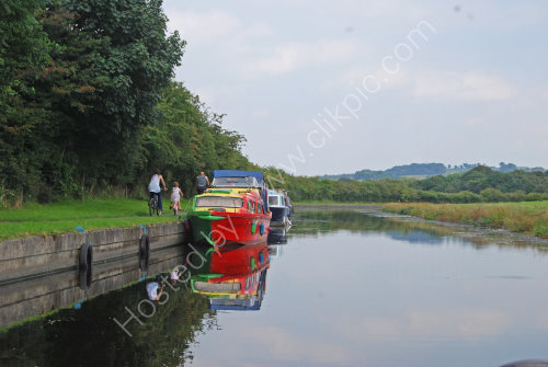 Reflections on the Leeds/Liverpool canal