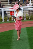 Photoshoot in the parade ring .....
