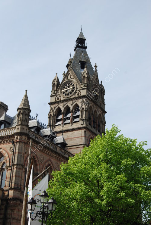 Chester Town Hall tower