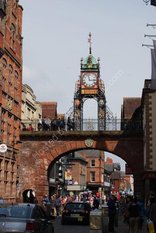 Clock on the City walls