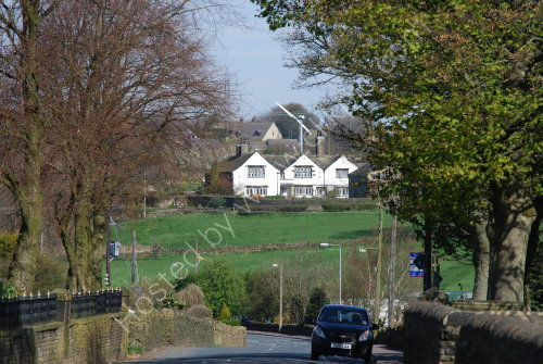 Approaching Coley village