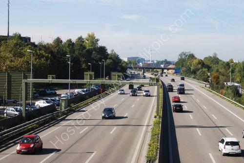 Motorway near Basel