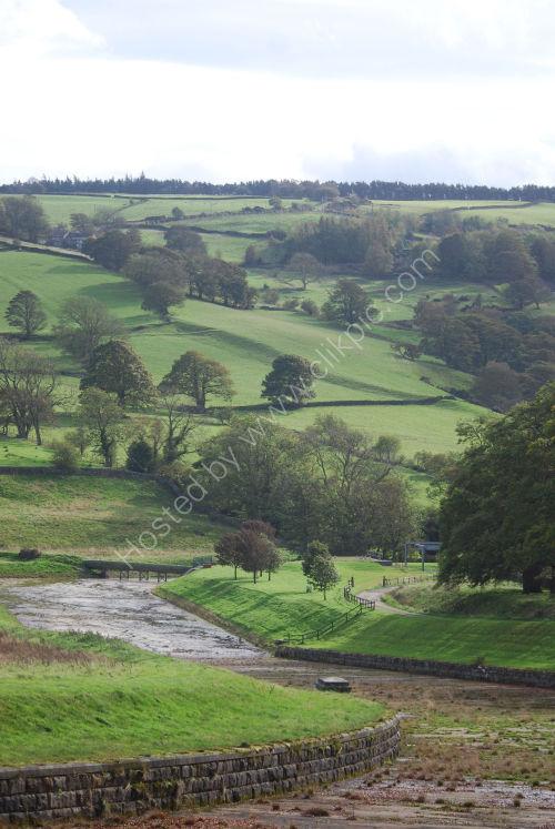 Landscape at Swinsty Reservoir