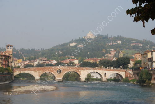 The River Adige, Verona