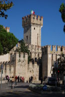 The Scaligera Castle  at Sirmione