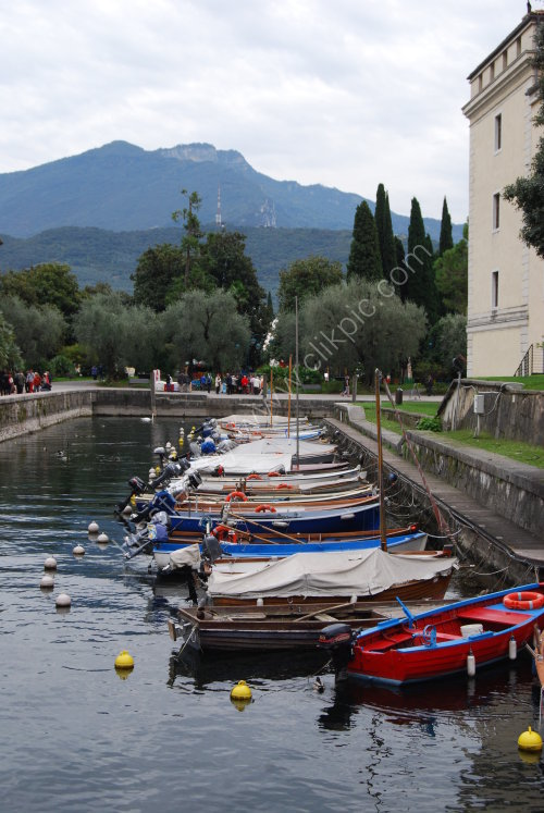 Little harbour at Riva del Garda