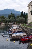Little harbour at Riva del Garda