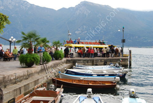 The jetty at Limone