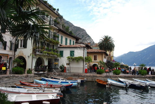 The harbour at Limone