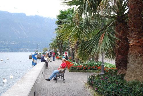 Lakeside promenade at Limone