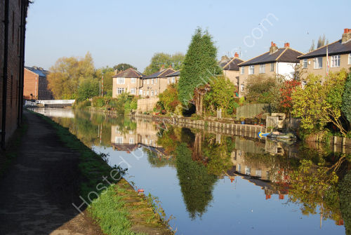 Reflection on the canal