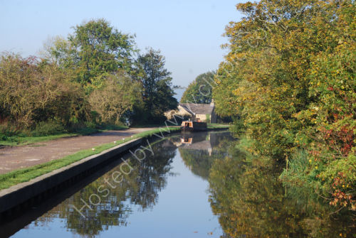 Reflections down the canal...