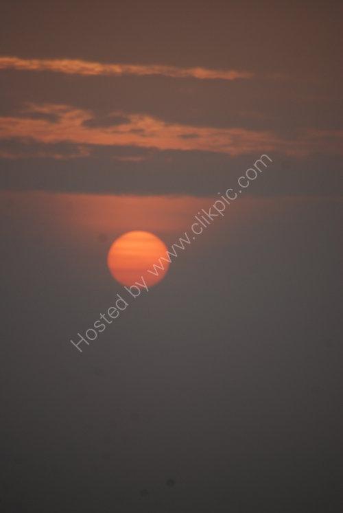 Sunset on Lake Garda