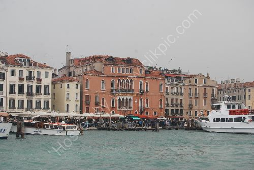The waterfront at Venice