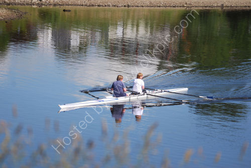 Rowing at Hollingworth Lake