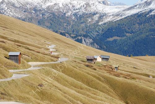 The Passo Pordoi - Dolomites