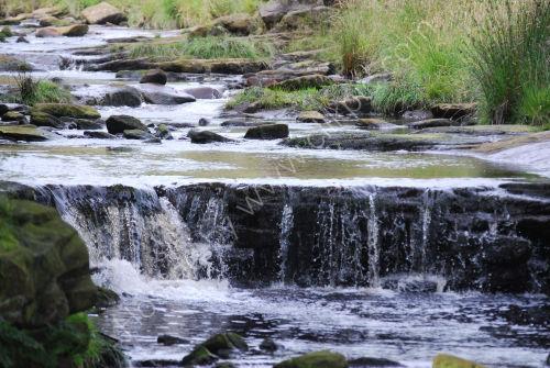 Mini waterfall....