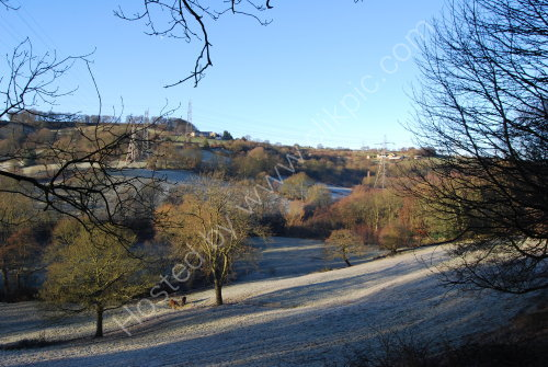 Frost in Red Beck Valley