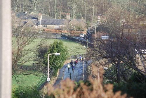 Cycling through Priestley Green