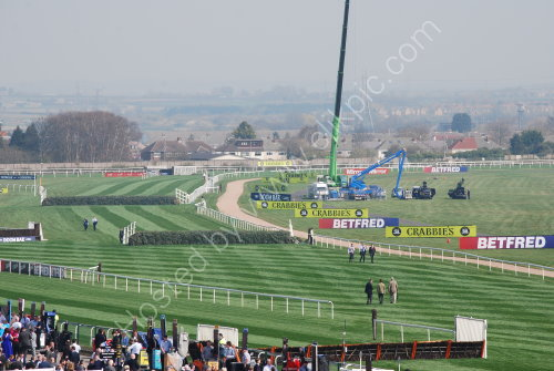Lovely Spring day at Aintree