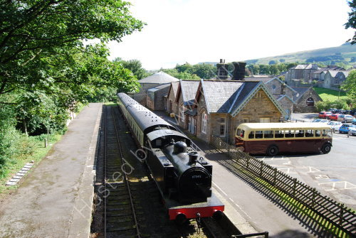 Hawes [the old railway station]