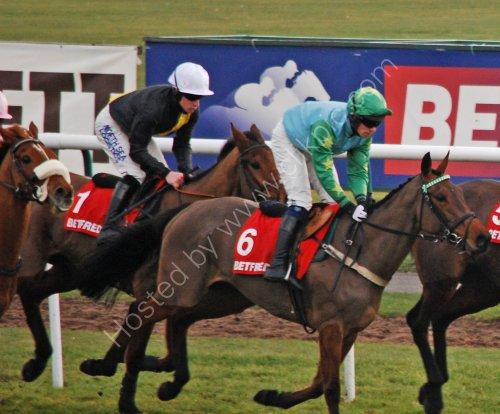 Horse racing at Haydock Park