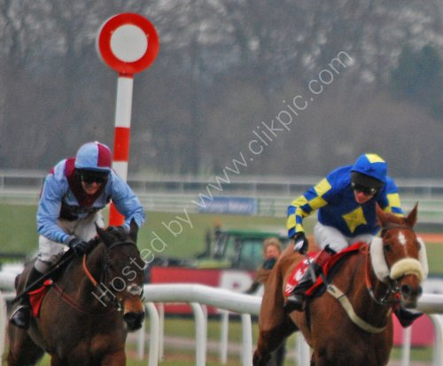 Racing at Haydock Park
