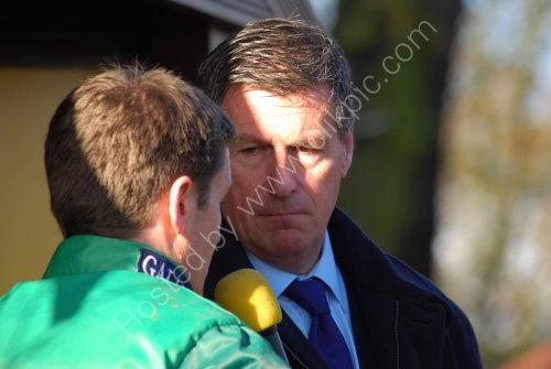 Interview with the winning Jockey