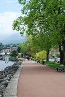 Lakeside promenade at Evian