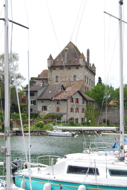Castle at Yvoire