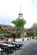 Village square .....