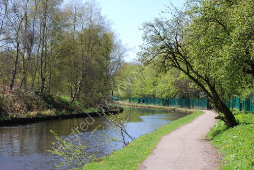 The Rochdale Canal at Littleborough