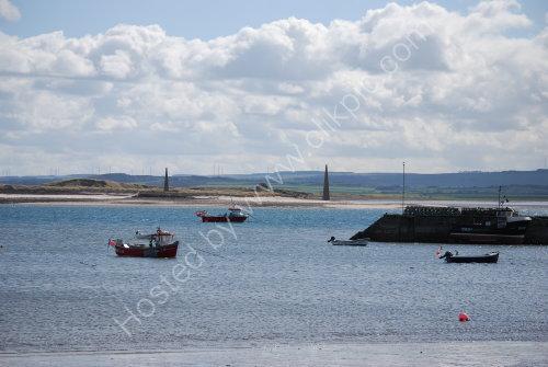 Across the water (Lindisfarne)