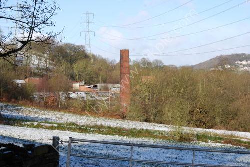 Old Mill Chimney....