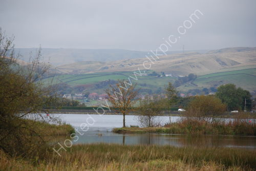 Hollingworth Lake and the Pennines