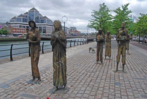 The Famine Memorial, Dublin
