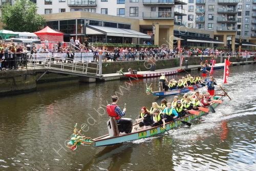 Dragon boat racing - Brewery Wharf