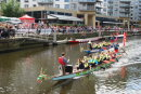 Dragon boat racing - Brewery Wharf