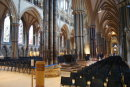The inside of Lincoln Cathedral